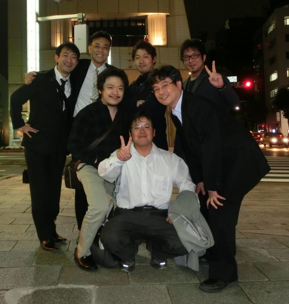 JAAM&ACEM2013前哨戦飲み会1